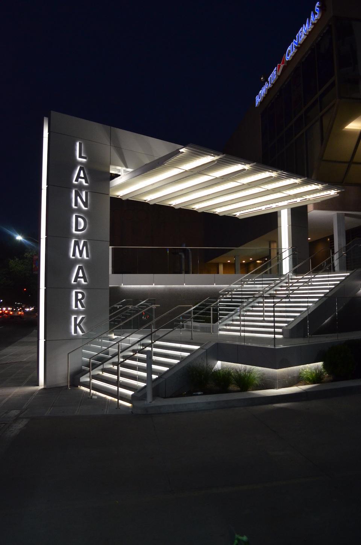 Landmark at night 1