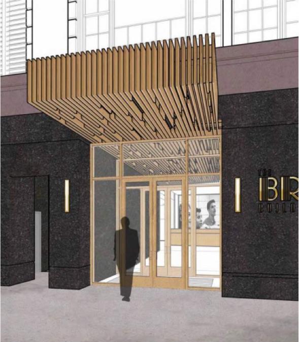 1619 Broadway - Entrance Rendering