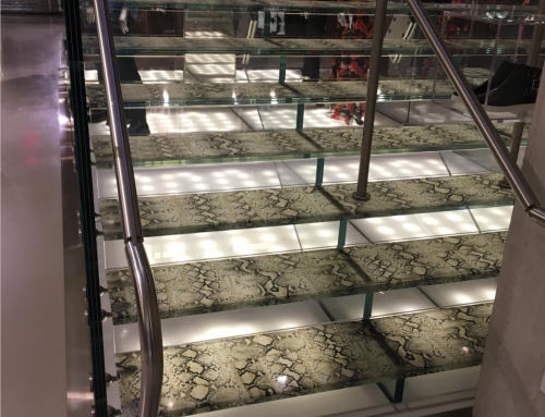 Just Cavalli – Custom Structural Glass Flooring – 434 West Braodway: New York, NY