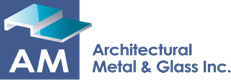 AM Architectural Metal & Glass Logo