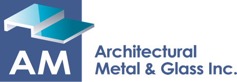 AM Architectural Metal & Glass Retina Logo