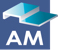 AM Architectural Metal & Glass Mobile Logo